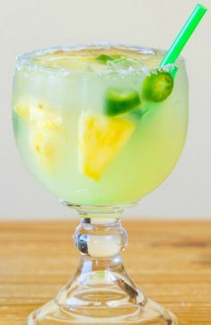 Jalapeno Infused Margarita