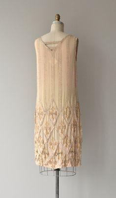Loire Valley dress vintage 1920s dress beaded 20s by DearGolden