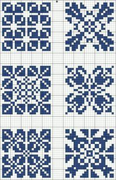Risultati immagini per geometric filet crochet chart Cross Stitch Charts, Cross Stitch Designs, Cross Stitch Patterns, Crochet Chart, Filet Crochet, Knitting Charts, Knitting Stitches, Knitting Patterns, Cross Stitching