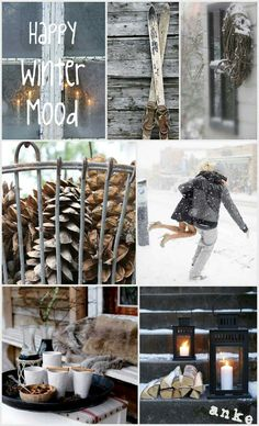 Moodboard | Happy winter mood #anke