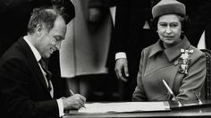 Documents held in the royal archives might shed more insight than has been publicly known so far on the run-up to the patriation of the Canadian Constitution, which culminated in Queen Elizabeth signing the proclamation on April 17, 1982, followed by then prime minister Pierre Trudeau.