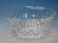 """Waterford Crystal - Lismore Pattern - 9"""" Scalloped Round Serving Bowl - $51.50"""