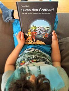 Lesend durch den Gotthard
