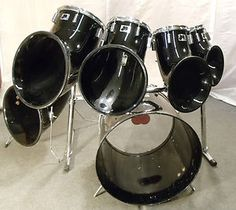 also from craigslist 70s era vintage ludwig red vistalite double bass kit drums and. Black Bedroom Furniture Sets. Home Design Ideas