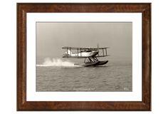 One Kings Lane - Prints & Posters - Frank Beken, Fairey Floatplane 1927