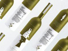 Zalm's Organic Extra Virgin Olive Oil by John | Brand Designer