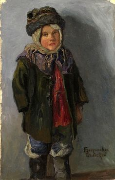 Country Boy - Nikolay Bogdanov-Belsky