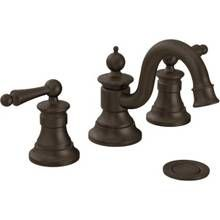 Vestige Oil Rubbed Bronze Twohandle High Arc Bathroom Faucet Mesmerizing Home Depot Moen Bathroom Faucets Inspiration