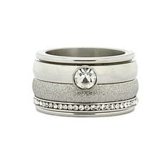 iXXXi Ring Komplett 3 Stapelring silber silver