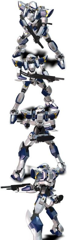 Arbalest2 is one guy that I want on my side of in any battle. tkscyber has created a great model that will not be hassled by anyone without some serious payback!  It was uploaded in 3DS format. [tksyber lives in Indonesia] #3D