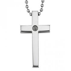 Hoppe Jewelers - TIT GENTS CROSS PEND W/ BEAD CHAIN, $59.00 (http://www.hjoutlet.com/tit-gents-cross-pend-w-bead-chain/)