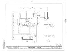 Rudolph Schindler House plan