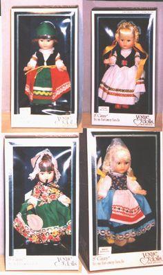 Ginny dolls by Vogue