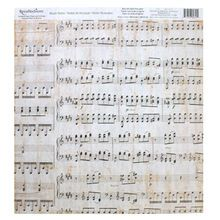 Music Notes Scrapbook Paper by Recollections®