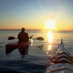 Sea kayaking. Vancouver Island.