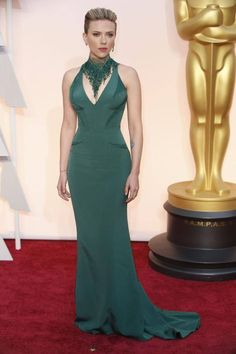Scarlet Johanson Oscars 2015