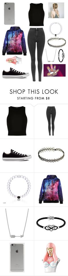 """""""LOREN"""" by bbgurlie ❤ liked on Polyvore featuring River Island, Converse, Jewel Exclusive, Incase and Nicki Minaj"""