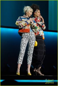 Miley Cyrus Jokes She's Drunk at NBC Upfronts 2016: Photo #3657766. Miley Cyrus takes the stage alongside Alicia Keys at the 2016 NBCUniversal Upfront Presentation on Monday (May 16) in New York City.    The ladies were there promoting…