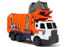 Dickie Toys Light and Sound Garbage Truck Toy