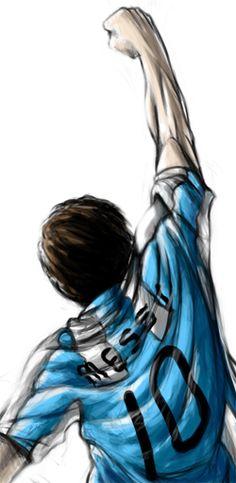 Messi by ehioe.deviantart.com on @deviantART
