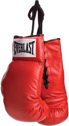 Everlast Vinyl Pair of Red Boxing Gloves « Impulse Clothes