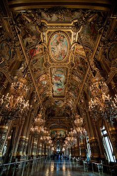 Great Hall, Provence-Opera / Paris  by wenzday01, via Flickr