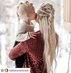 raise your children to channel their inner viking , viking braids for everyday hair style Strong women. May we Know them. May we Be them. May we Raise them. Pretty Hairstyles, Girl Hairstyles, Braided Hairstyles, Wedding Hairstyles, Viking Hairstyles, Faux Hawk Hairstyles, Fashion Hairstyles, School Hairstyles, Popular Hairstyles