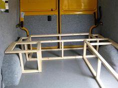 The AA Camper Van build - Page 2 - VW Forum - VW Forum lif life diy how to build life diy ideas life diy interiors life diy projects Camper Beds, T5 Camper, Sprinter Camper, Vw T4, T4 Camper Interior Ideas, Campervan Interior, Diy Interior, Vw Conversions, Camper Van Conversion Diy