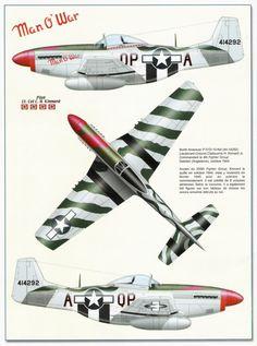 """P-51 D  """"Man O' War"""""""