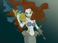 An Artist Reimagined 16 Disney Princesses Who Look Like They're Ready For Halloween - MTV