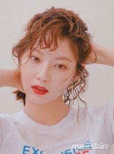 Gong Seung Yeon For April 2018 Marie Claire Gong Seung Yeon, Cute Girl Pic, Cute Girls, Korean Actresses, Actors & Actresses, Dramas, My Only Love Song, Korean Short Hair, A Love So Beautiful