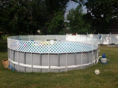 Cheap And Easy Safty Fence Around A Above Ground Pool