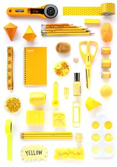 COLOR STUDY | Yellow | I SPY DIY