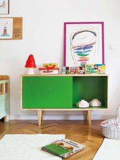 ¡El #dormitorio más divertido! Con muebles a medida #infantil #cómoda