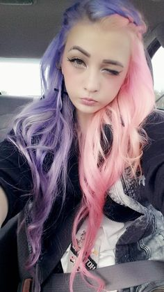 short colored hair kawaii - Google Search