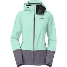 The North Face Bashie Stretch Jacket - Women's Mint Blue/Greystone Blue Heather