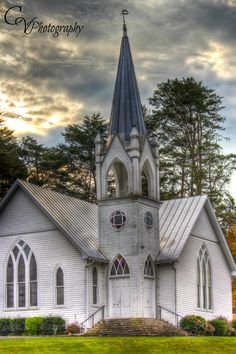 Beautiful old church in Sevierville,TN www.cathyvphotography.com
