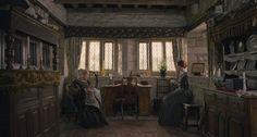 Judi Dench (Mrs. Fairfax) & Mia Wasikowska (Jane Eyre) - Jane Eyre (2011) #charlottebronte #caryfukunaga