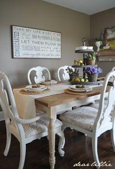 Dear Lillie: Jamie and Joshs Dining Room