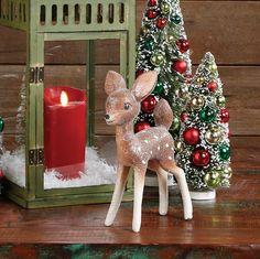 Retro Vintage Deer Figurine
