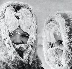 −45°C  Photo by Eduard Kotlyakov, December 1968