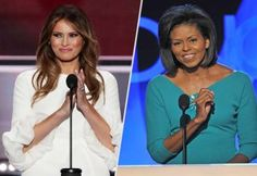 Oops! Melania Trump Tried To Copy Michelle Obama & Got Caught. Watch on.. #MelaniaTrump #Obama #MichelleObama #GOPconvention #Plagiarism #FLOTUS #HillaryClinton #DonaldTrump #GOP #Republican