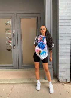 Black Girl Fashion, Tomboy Fashion, Streetwear Fashion, Fashion Outfits, Womens Fashion, Fashion Ideas, Girl Streetwear, 80s Fashion, Korean Streetwear