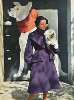 Robert Piguet 1950 Redingote, Photo Pottier