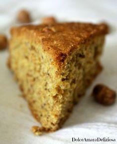 Se anche voi siete amanti delle nocciole e avete voglia di un buon dolce eccovi servita una fetta di questa magica torta alle nocciole! Tortilla Sana, Sweet Corner, Almond Cakes, Biscotti, Sweet Bread, Pain, Delicious Desserts, Cupcake Cakes, Bakery