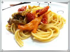 I Pasticci della Pupa: Spaghetti e friggitelli