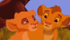 Fan Art of Vitani and Kopa for fans of Vitani the Outlander 24341602 Lion King Simba's Pride, Lion King 1, Disney Lion King, King 3, All Disney Movies, Disney Stuff, Outlander Fan Art, Wolf Spirit Animal, Le Roi Lion