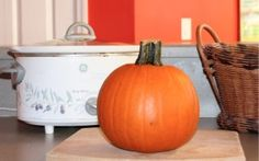 This step by step photo tutorial explains in detail how to cook a pumpkin. It's easy and fresh pumpkin tastes delicious!