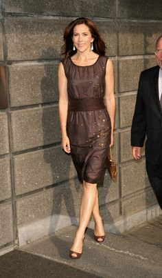 Princess Mary of Denmark looking good.