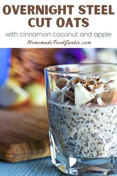 Overnight Steel Cut Oats Breakfast is amazingly easy and good for you and your family. Do a few minutes work the night before and this no-cook, gluten-free, dairy-free, vegan. Breakfast will be ready in under five minutes in the morning. A filling, delicious way to start your day. #breakfast #kidbreakfast #easybreakfast #overnightoats #steelcutoats #healthybreakfast Breakfast For Kids, Vegan Breakfast, Brunch Recipes, Breakfast Recipes, Dairy Free, Gluten Free, Steel Cut Oats, Overnight Oats, Sweet Treats